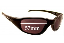 Sunglass Fix Sunglass Replacement Lenses for Rudy Project Graal Fyol - 57mm Wide