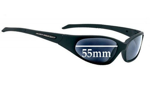 Sunglass Fix Sunglass Replacement Lenses for Rudy Project Graal SX  - 55mm Wide