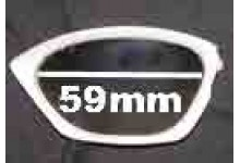 Sunglass Fix Sunglass Replacement Lenses for Rudy Project Horus - 59mm Wide