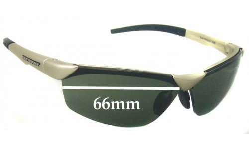 Sunglass Fix Sunglass Replacement Lenses for Rudy Project Hyde - 66mm Wide