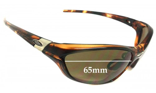 Sunglass Fix Sunglass Replacement Lenses for Rudy Project Wizaard - 65mm Wide