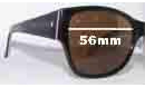 Sunglass Fix Sunglass Replacement Lenses for Saba Cruz - 56mm Wide