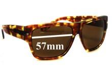 Sunglass Fix Sunglass Replacement Lenses for Sabre No Control - 57mm Wide