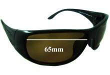 Sunglass Fix Sunglass Replacement Lenses for Serengeti Larino - 65mm Wide