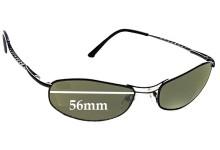 Sunglass Fix Sunglass Replacement Lenses for Serengeti Via Veneto - 56mm Wide