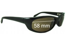 Sunglass Fix Sunglass Replacement Lenses for Serengeti Bromo - 57.5 - 58mm Wide