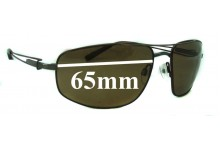 Sunglass Fix Sunglass Replacement Lenses for Serengeti Augusto - 63mm Wide