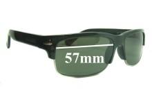 Sunglass Fix Sunglass Replacement Lenses for Serengeti Vasio - 57mm Wide