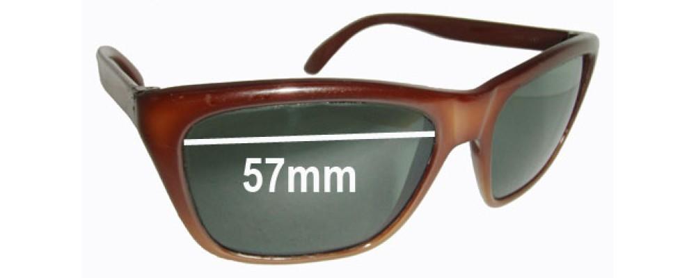 Sunglass Fix Sunglass Replacement Lenses for Ski Optics Royal - 57mm Wide