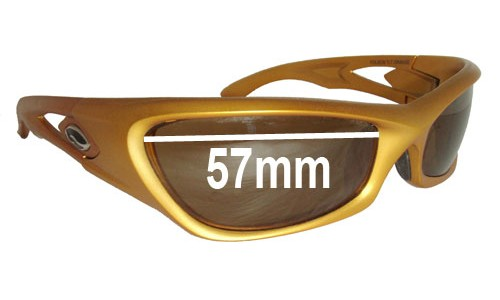 Sunglass Fix Sunglass Replacement Lenses for Smith Folsom - 57mm Wide