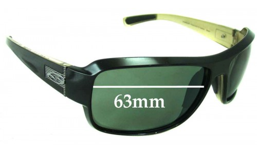 Sunglass Fix Sunglass Replacement Lenses for Smith Rambler - 63mm Wide
