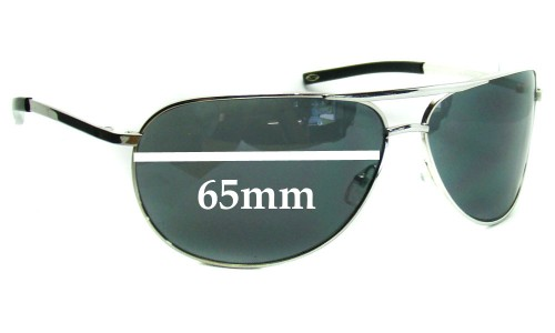 Sunglass Fix Sunglass Replacement Lenses for Smith Serpico - 65mm Wide x 50mm Tall