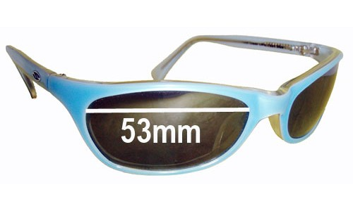 Sunglass Fix Sunglass Replacement Lenses for Smith Southbound - 53mm Wide
