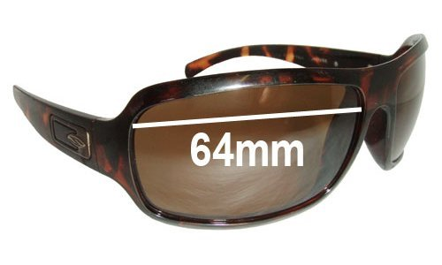 Sunglass Fix Sunglass Replacement Lenses for Smith Super Method - 64mm Wide