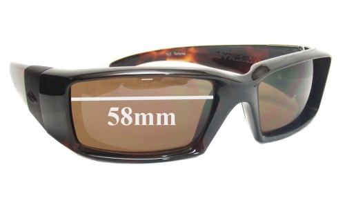Sunglass Fix Sunglass Replacement Lenses for Smith Syndicate - 58mm Wide
