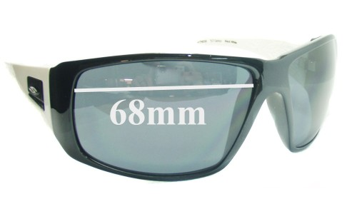 Sunglass Fix Sunglass Replacement Lenses for Smith Witness - 68mm Wide