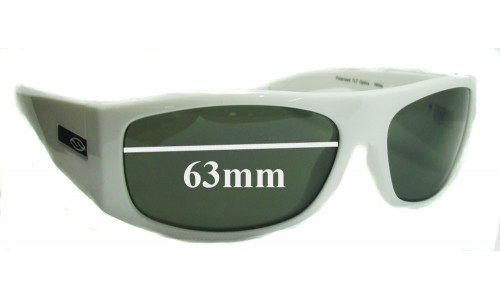 Sunglass Fix Sunglass Replacement Lenses for Smith The Don - 63mm Wide
