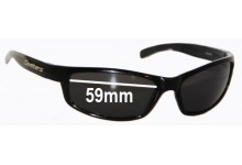 Sunglass Fix Sunglass Replacement Lenses for Spotters Hazard  - 59mm Wide
