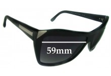 Sunglass Fix Sunglass Replacement Lenses for Stella McCartney SM4015 - 59mm Wide
