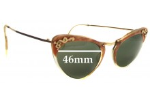 Sunglass Fix Sunglass Replacement Lenses for Trident 2.0 - 46mm Wide