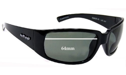 Sunglass Fix Sunglass Replacement Lenses for Ugly Fish Tall Tide - 64mm Wide