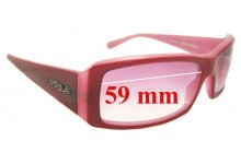 Sunglass Fix Sunglass Replacement Lenses for Vogue VO2419-S - 59mm Wide