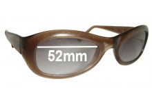 Sunglass Fix Sunglass Replacement Lenses for Vogue VO2228-S - 52mm Wide