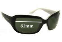 Sunglass Fix Sunglass Replacement Lenses for Vogue VO2473-S - 61mm Wide