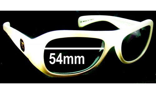 Sunglass Fix Sunglass Replacement Lenses for Von Zipper Solow - 54mm Wide