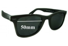 Sunglass Fix Sunglass Replacement Lenses for William Rast Wayfarer WRS 2010 - 50mm Wide