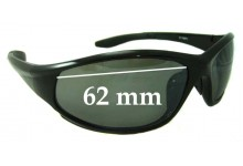 Sunglass Fix Sunglass Replacement Lenses for 21106PL - 62mm Wide