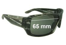 Sunglass Fix Sunglass Replacement Lenses for Arnette Big Deal AN4168 - 65mm Wide