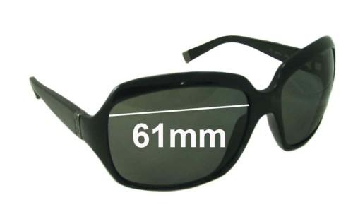 Sunglass Fix Sunglass Replacement Lenses for Calvin Klein CK3075S - 61mm Wide