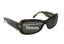 Sunglass Fix Sunglass Replacement Lenses for Chanel 5099 - 56mm Wide