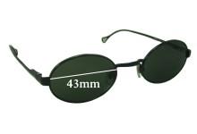Sunglass Fix Sunglass Replacement Lenses for Dolce & Gabbana DG6013 - 43mm Wide