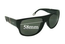 Sunglass Fix Sunglass Replacement Lenses for Dolce & Gabbana DG6061 - 58mm Wide