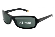 Sunglass Fix Sunglass Replacement Lenses for DKNY DY4003 - 61mm Wide