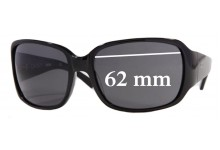 Sunglass Fix Sunglass Replacement Lenses for DKNY DY4027 -62mm Wide