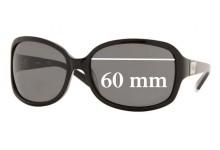 Sunglass Fix Sunglass Replacement Lenses for DKNY DY4039 Sunglass Replacement Lenses- 60mm Wide