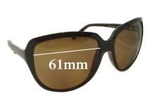 Sunglass Fix Sunglass Replacement Lenses for Dolce & Gabbana DG8069 - 61mm Wide
