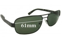 Sunglass Fix Sunglass Replacement Lenses for Gant GS Fekke - 61mm Wide