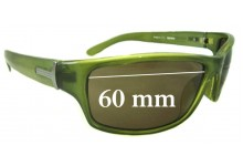 Sunglass Fix Sunglass Replacement Lenses for Gensis P4311-313 - 60mm Wide