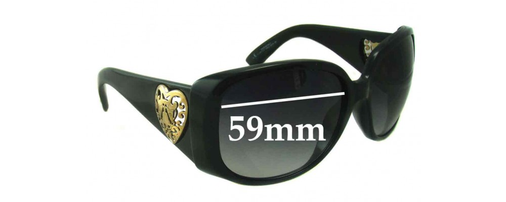 Sunglass Fix Sunglass Replacement Lenses for Gucci GG 3058 - 59mm Wide