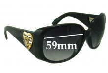 Sunglass Fix Sunglass Replacement Lenses for Gucci GG 3058 - 59mm Wide