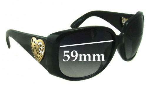 Sunglass Fix Sunglass Replacement Lenses for Gucci 3058 - 59mm wide