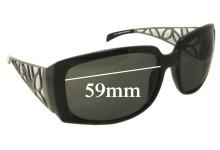 Sunglass Fix Sunglass Replacement Lenses for Guess GU6334 - 59mm Wide