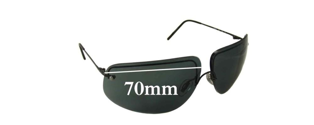 51abc646948e Sunglass Fix Sunglass Replacement Lenses for Hugo Boss HB5782 - 70mm wide