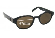 Sunglass Fix Sunglass Replacement Lenses for Lanvin LV 3149 - 47mm Wide