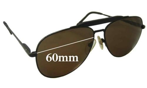 Sunglass Fix Sunglass Replacement Lenses for Nikon NK4921-5 - 60mm Wide