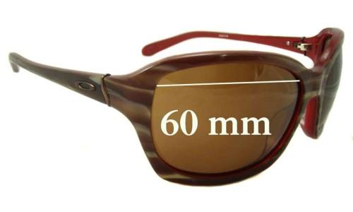 Sunglass Fix Sunglass Replacement Lenses for Oakley Taken - 60mm wide